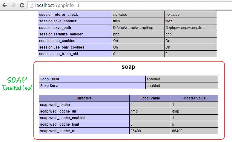 soap-install-in-wamp-windows7